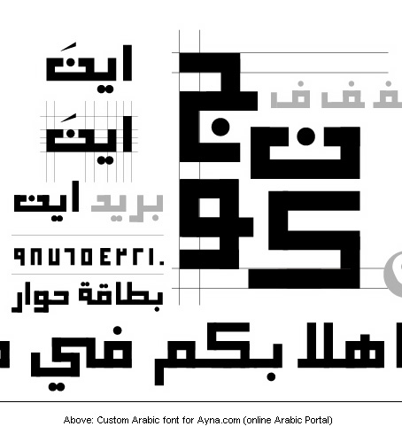 Ayna Arabic Typeface