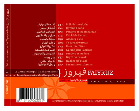 Sample application on a back CD cover