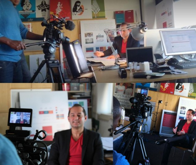 Tarek Atrissi Arabic Graphic Designer Typographer Interview Al Jazeera TV documentary branding