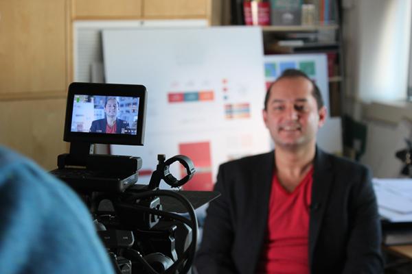 Tarek Atrissi: internationally acclaimed award winning design interview on Al Jazeera TV channel
