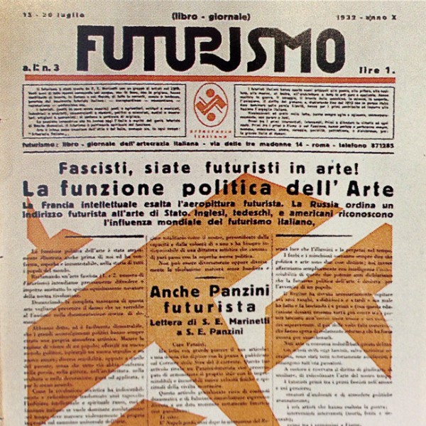 Italian newspaper front cover and masthead design and typography. vernacular design from Italy. inspired by Louise Fili work and education and from the book italian art deco