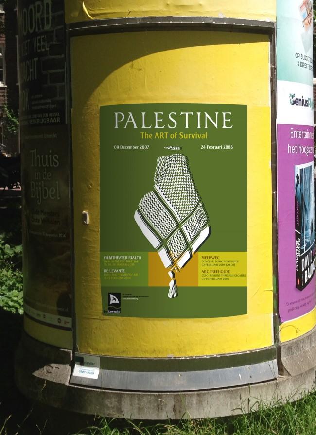 2_poster_design_Palestine_Amsterdam_holland