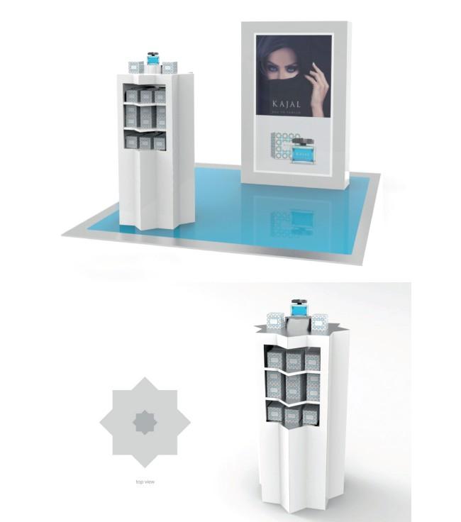 1_fragrance_floor_merchandiser_Dubai