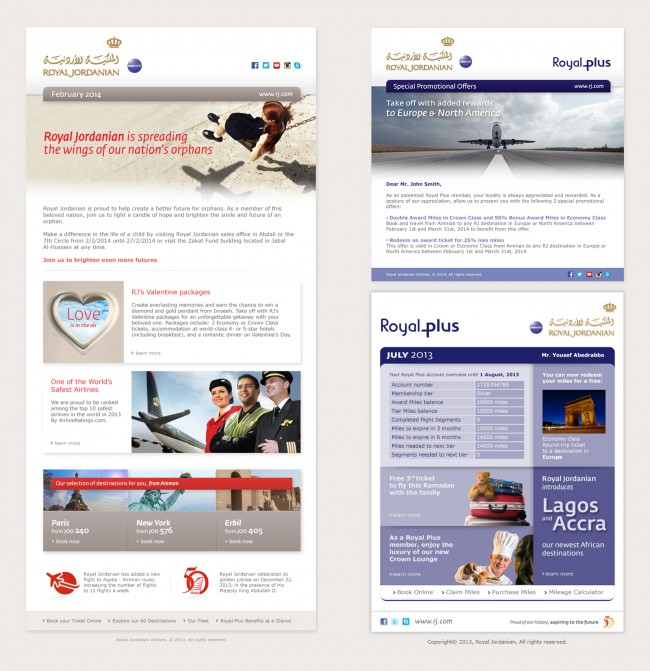 4_Enewsletter_design_jordan_airline_RJ