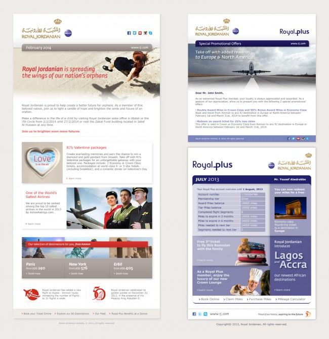 4_Enewsletter_design_jordan_airline_RJ