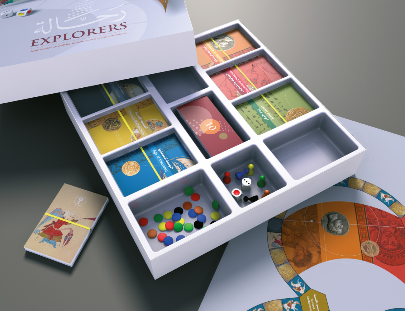 Rahala Board Game Design Tarek Atrissi Design The Netherlands - Board game design