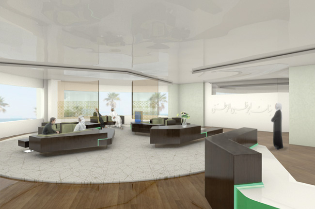 1 Inrerior Design Abu Dhabi National Bank