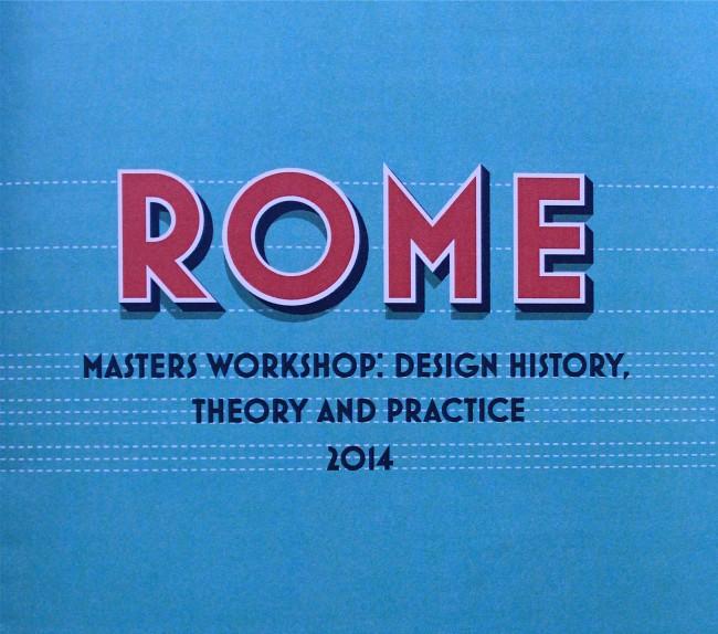 1-Rome_design_typography_class_masters_italy_tarek_atrissi