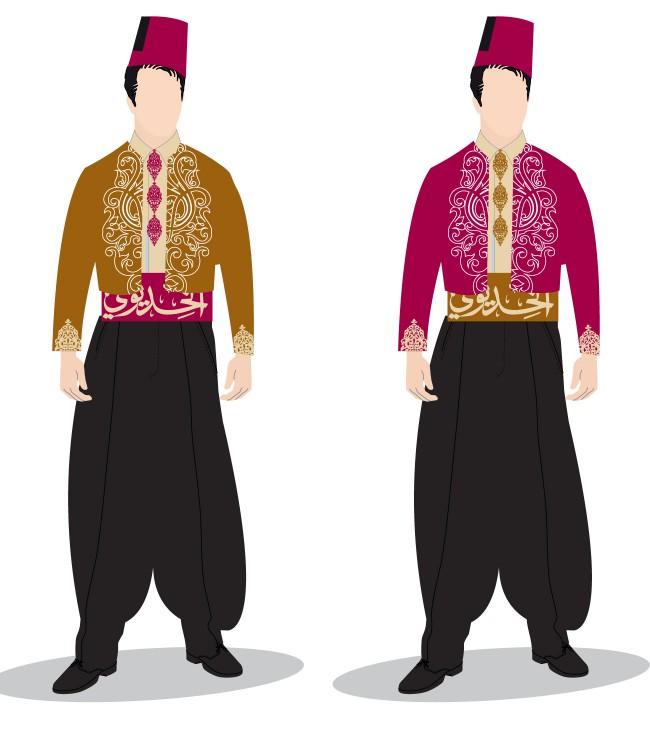 3b_Restaurant_costume_design_Egyptian_restaurant