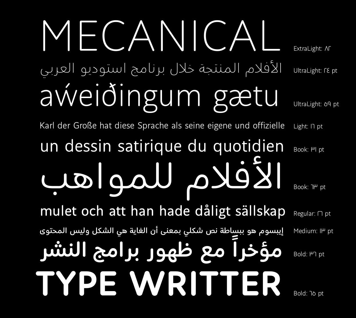 Bold Arabic Fonts