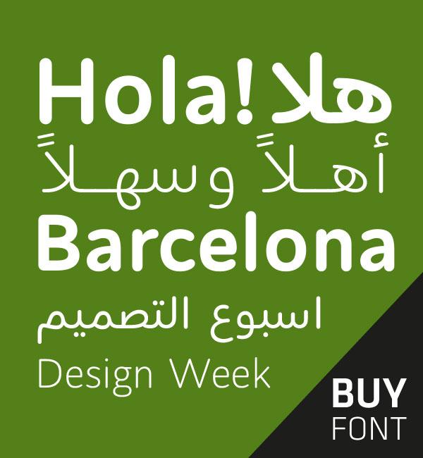 Arabic Type Design & development | Bilingual custom Typefaces