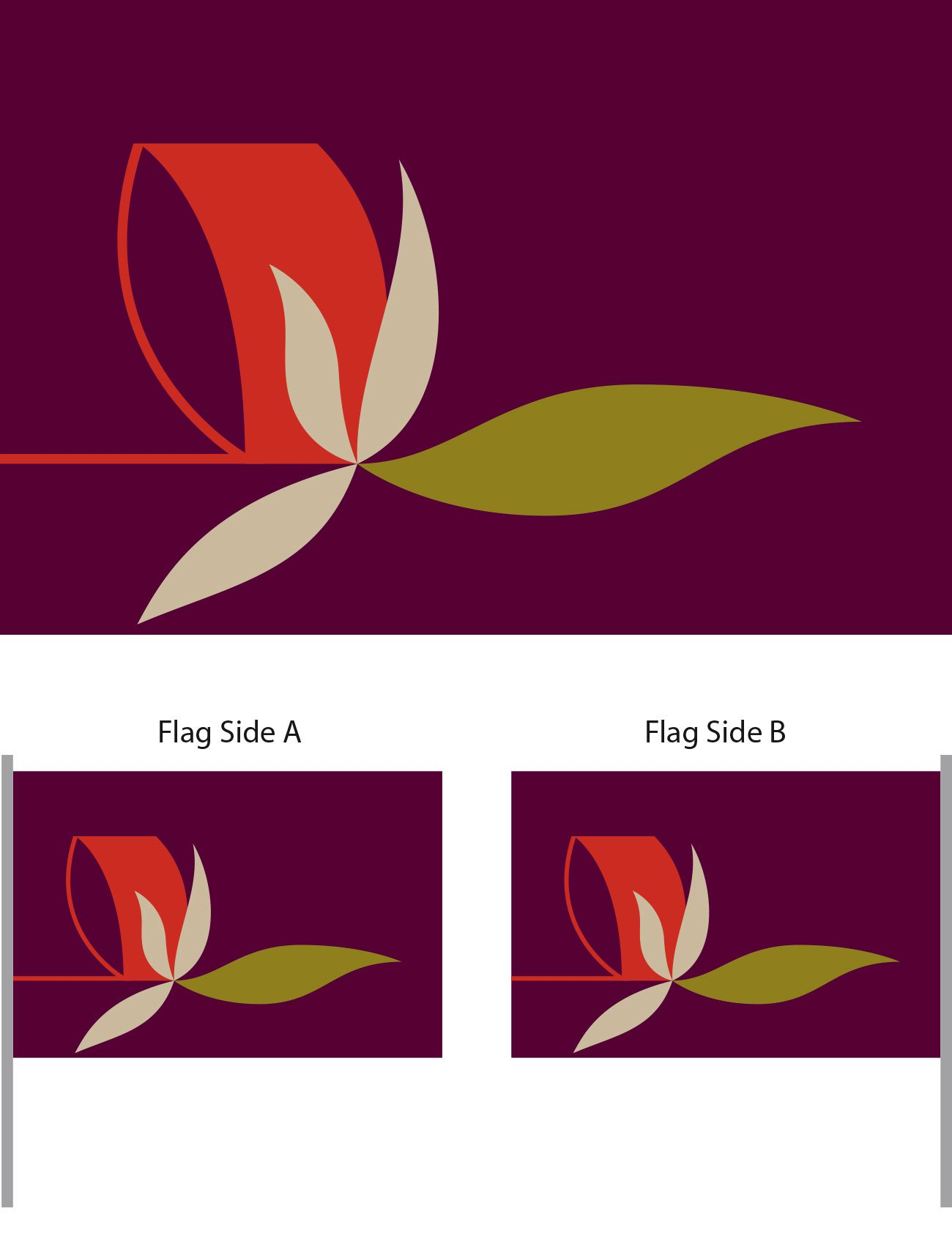 Flag of Peace Design | Tarek Atrissi Design | The Netherlands